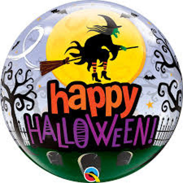 Qualatex Bubbles: Happy Halloween Balloon