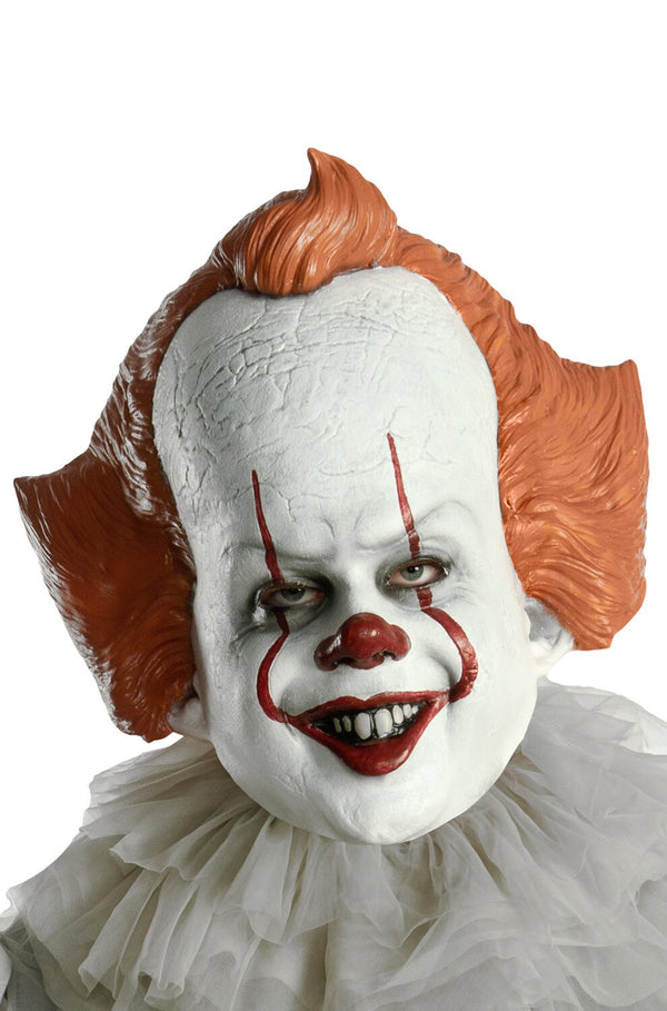 Rubie's IT Movie Chapter 2 Adult Pennywise Vinyl Mask Adult Costume