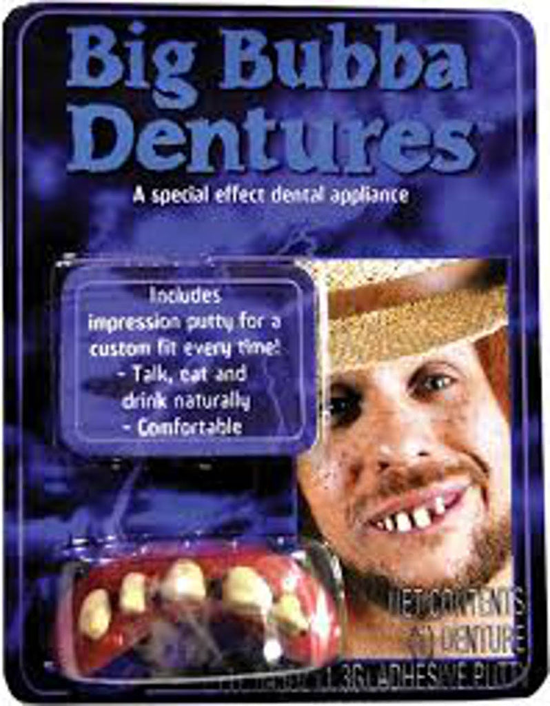 Dangling Tooth Bubba Dentures