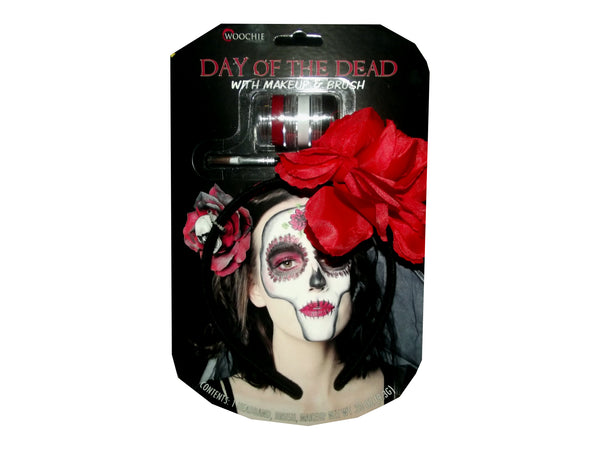 Day Of The Dead Headband with Make-up
