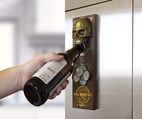 Gift Republic Skull Caps Bottle Opener