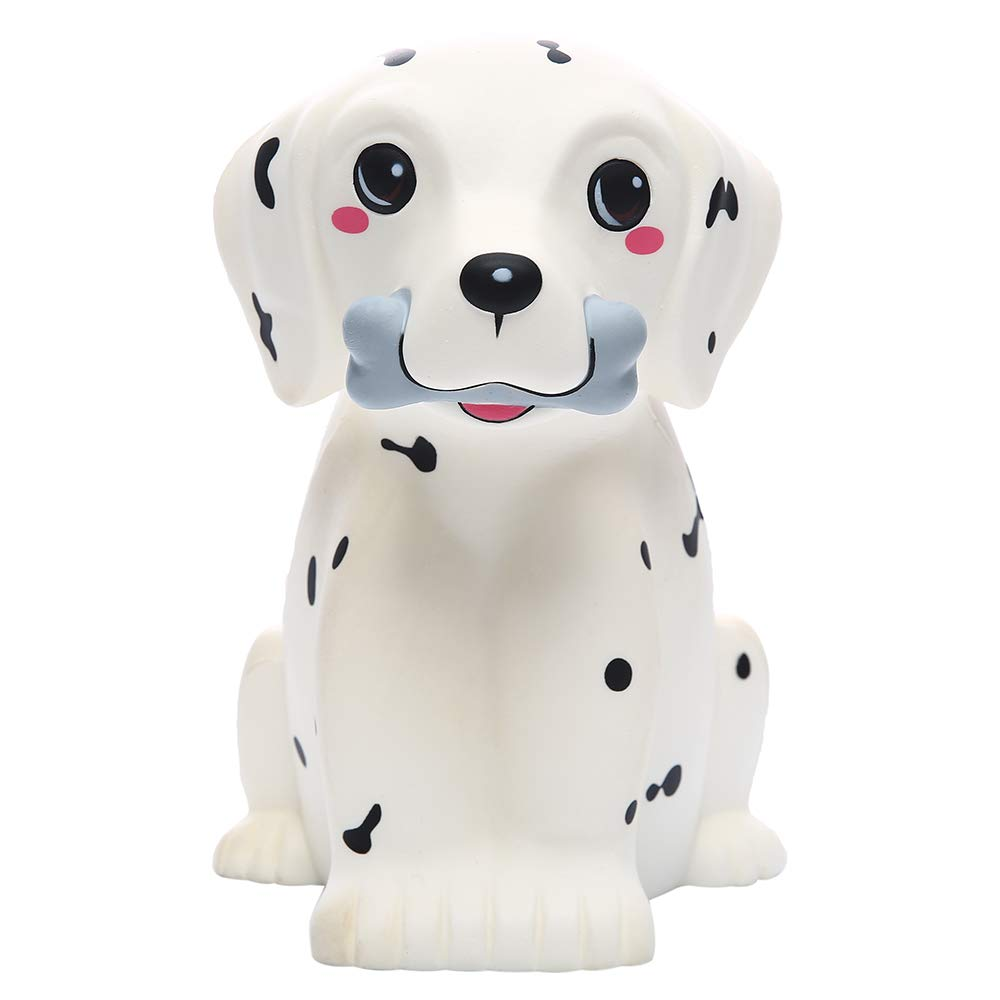 Giant Dalmatian Dog Jumbo Soft Slow Rising Scented Animal Squishies Stress Relief