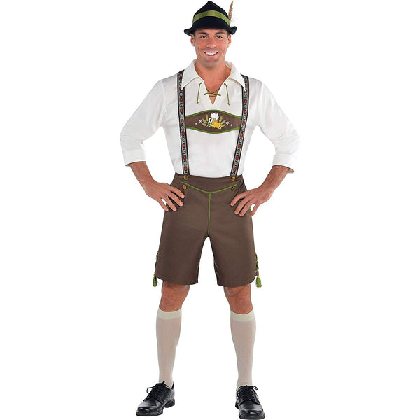 AMSCAN Mr. Oktoberfest Halloween Costume for Men, Medium, with Included Accessories