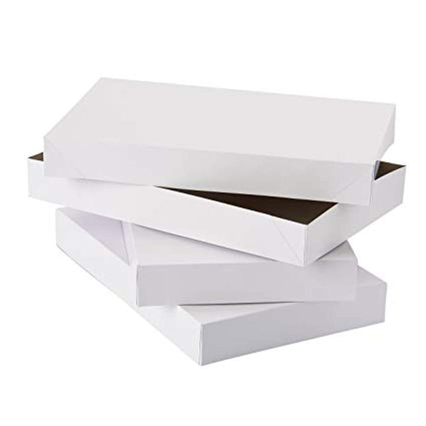 3 Pack White Gift Boxes