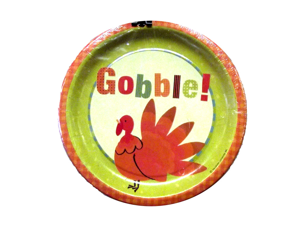 Thanksgiving Gobble Plates