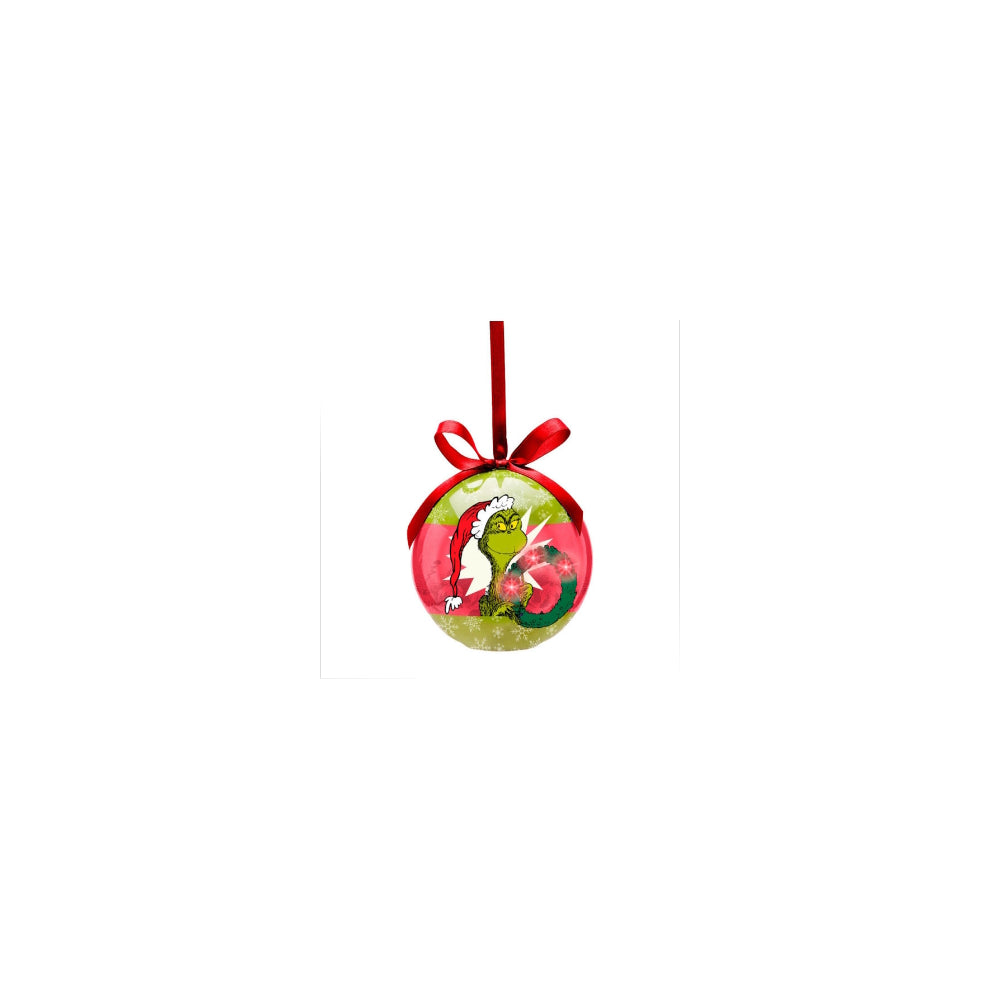 Dr. Seuss the Grinch LED Ball Ornament