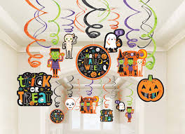 Halloween Swirl Decorations