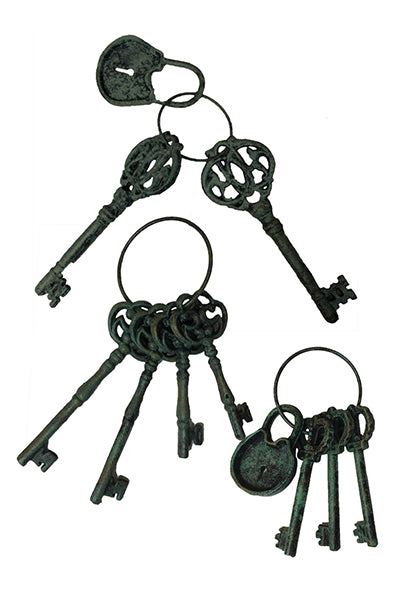 Lock And Keys Cast Iron