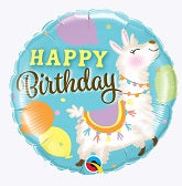 Qualatex Round Birthday Foil Balloon