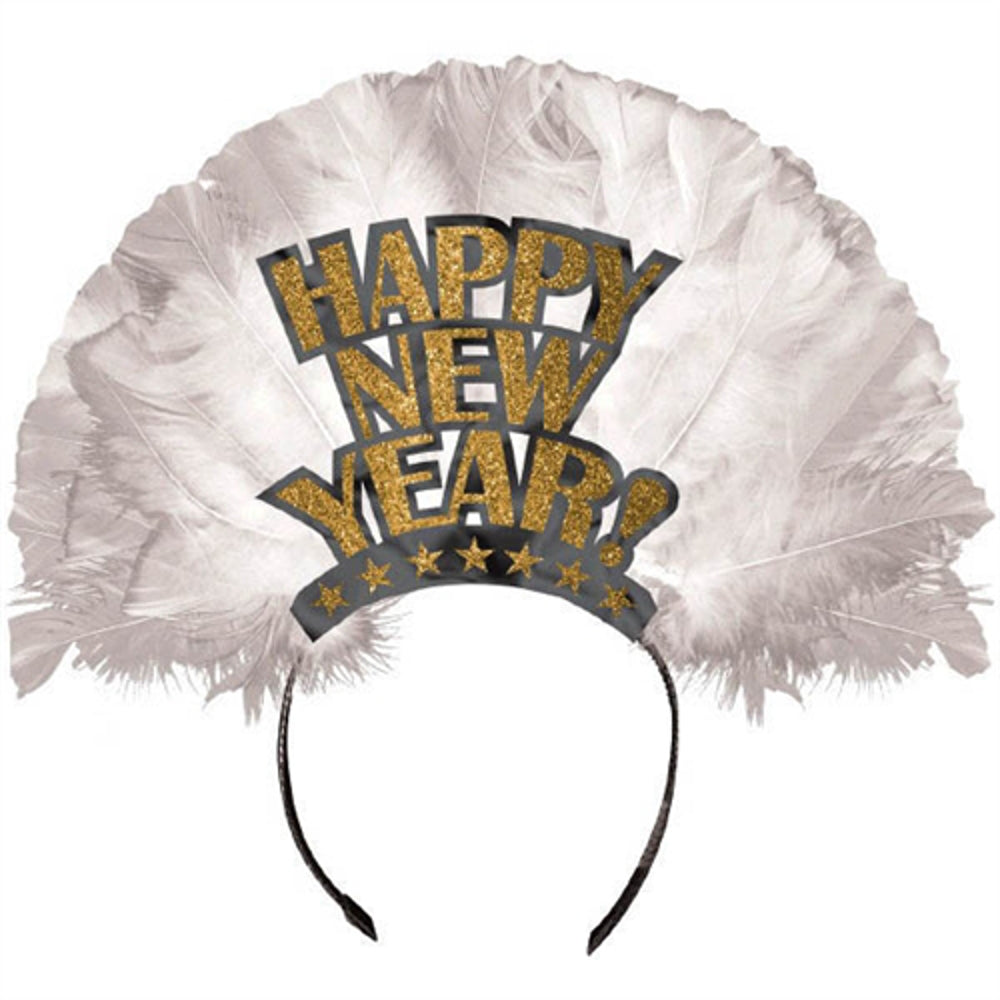 Happy New Year Feather tiara