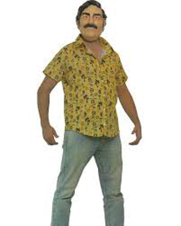 Sponch Costumes El Patron Adult Costume