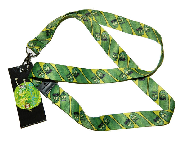 Rick and Morty, Pickle Rick - Exclusive Original Licensed Artwork, Lanyard