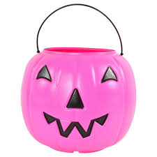 Trick Or Treat Pumpkin Candy Pail