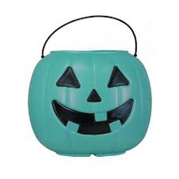 Trick Or Treat Blue Pumpkin Pail