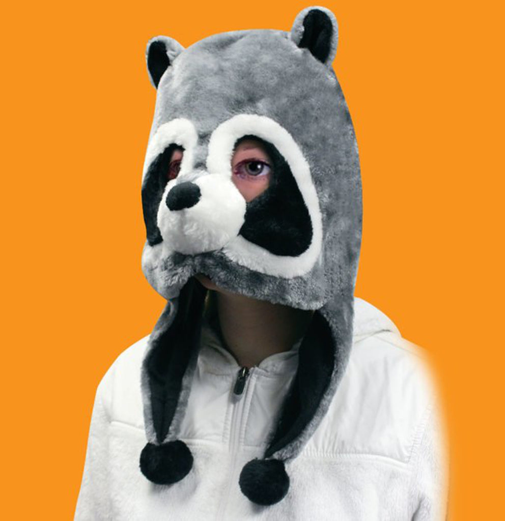 Raccoon Plush Mask