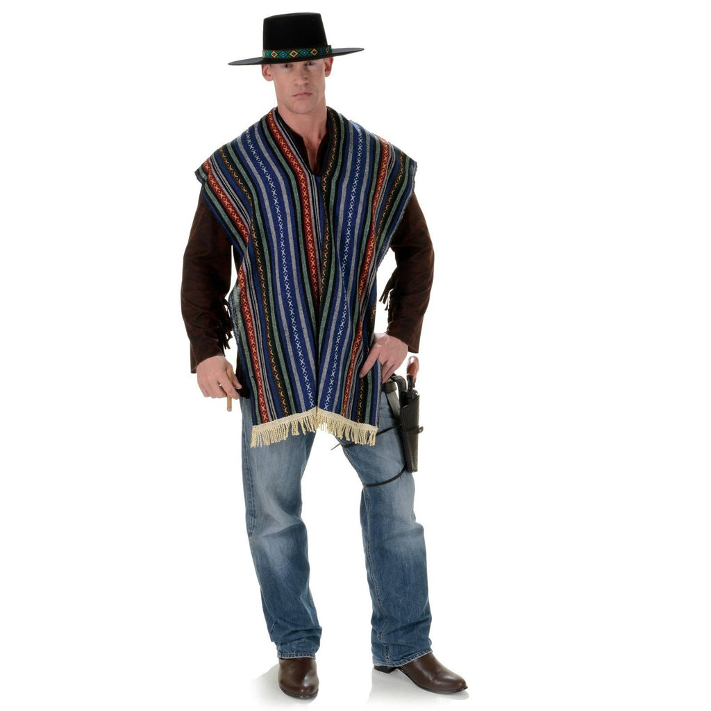 Bandito - Adult Wild West Costume - Serape / Shawl / Poncho