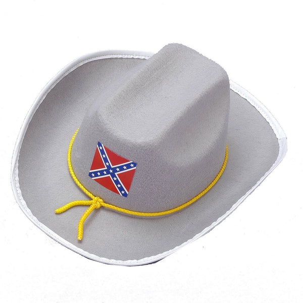 Confederate Officer Hat - One-Size