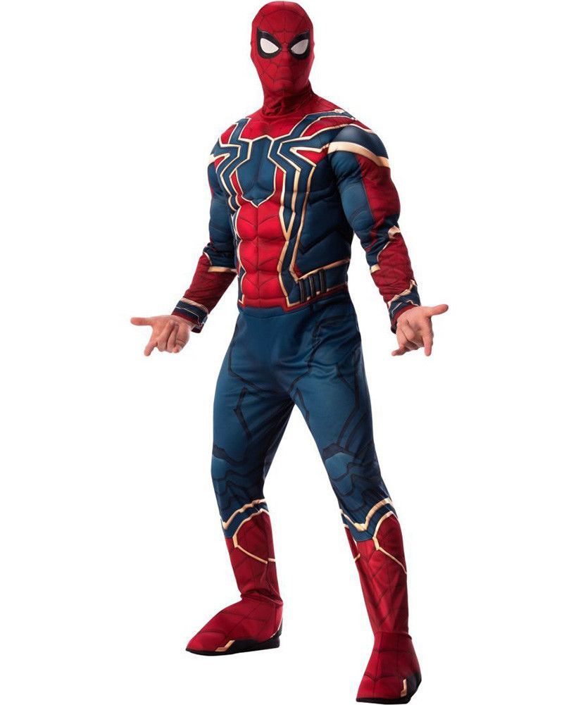 Infinity War Deluxe Iron Spider Mens Costume Size STD
