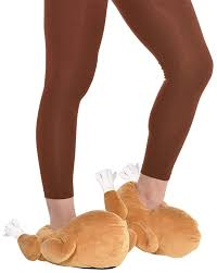 Amscan Turkey Slippers