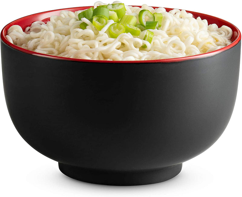 Asian Noodle Bowls, 34 oz, Set of 4-Dine-Kook-kook