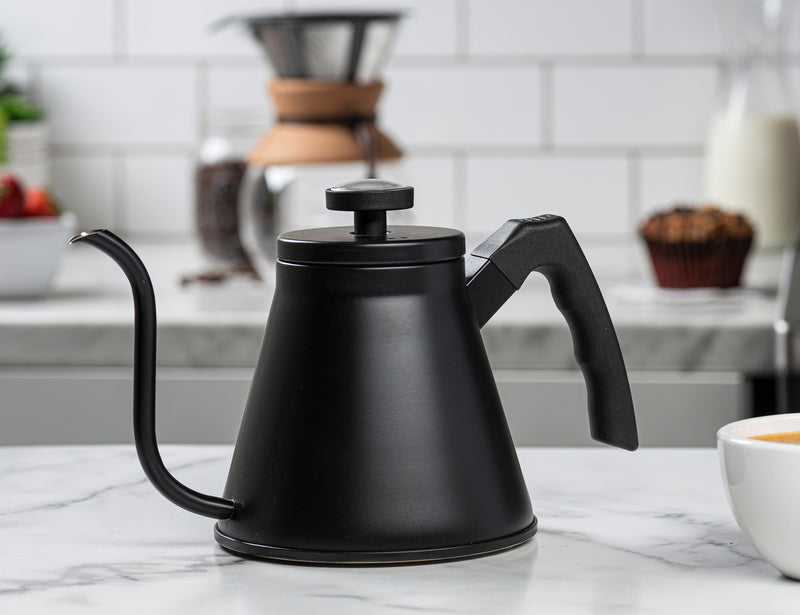Gooseneck Pour Over Kettle, Stainless Steel, 27 oz