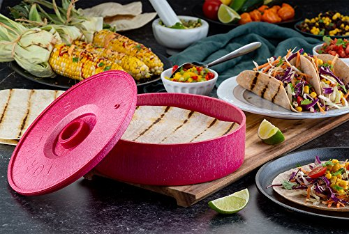 Tortilla Warmer, 8 inch-Serve-Kook-Red-kook