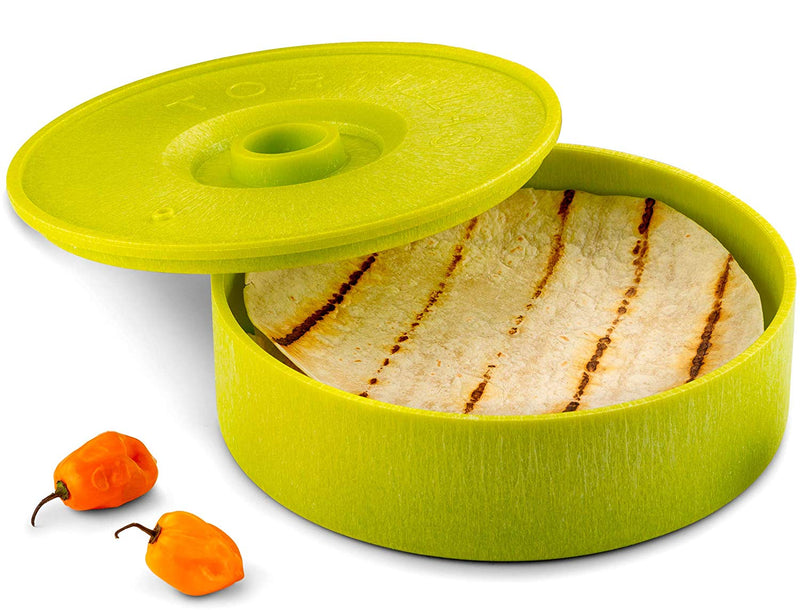 Tortilla Warmer, 8 inch-Serve-Kook-Green-kook