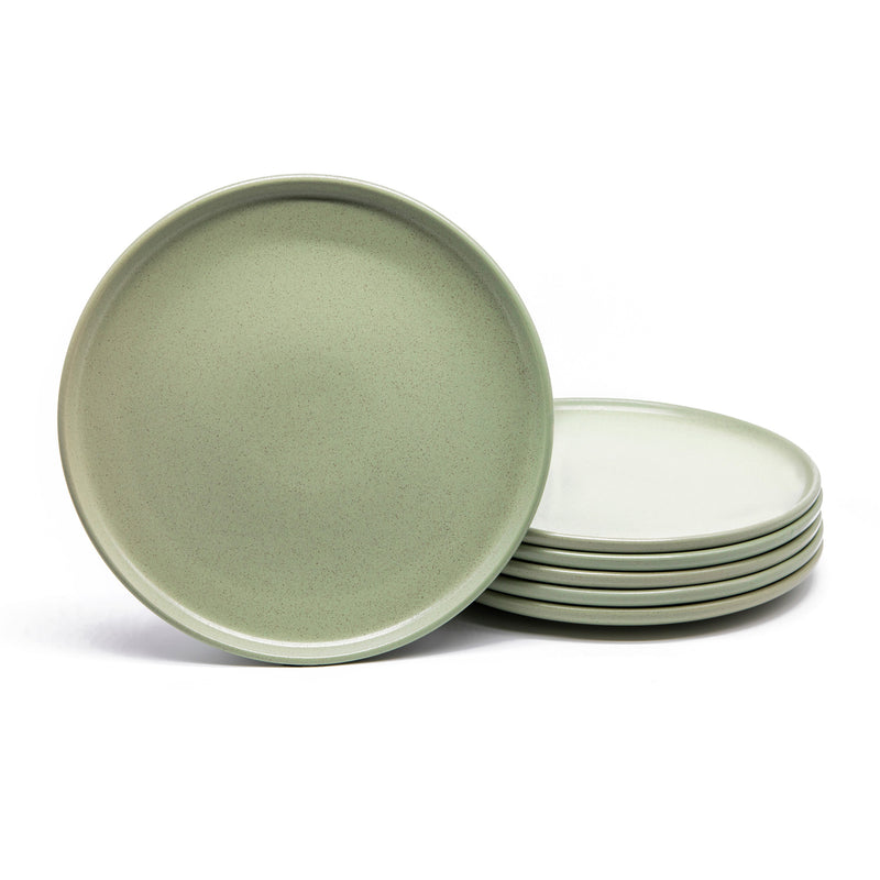 Dinner Plates, 11 Inch, Set of 6, Nordic Collection