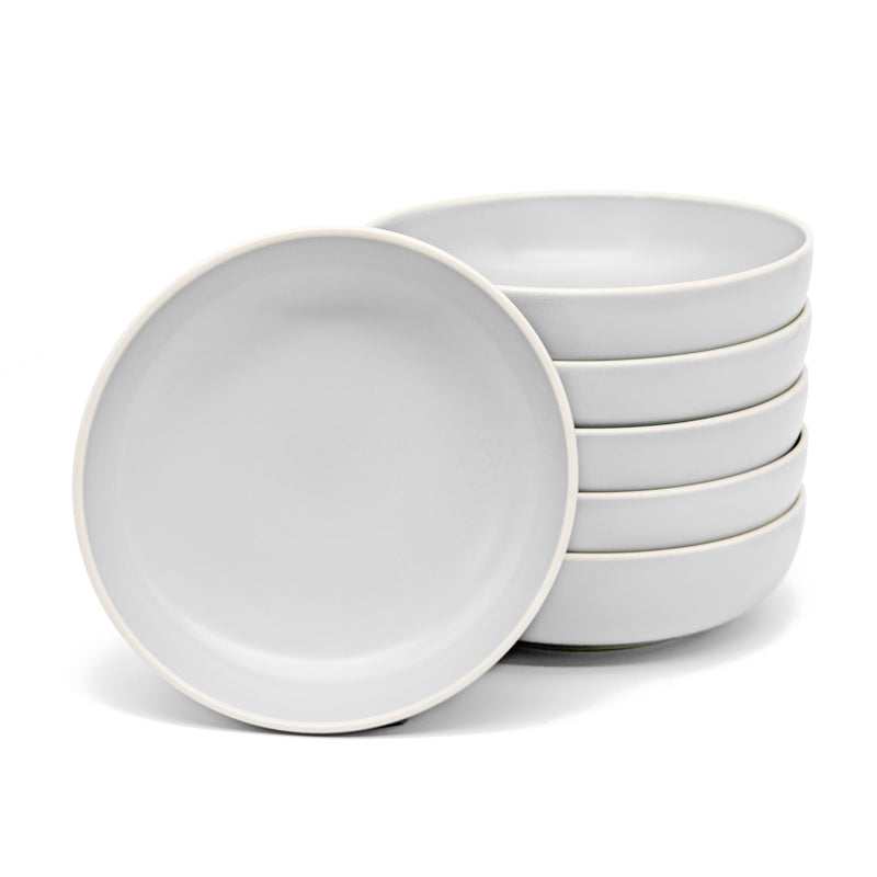 Dinner Bowls, 24 oz, Set of 6, The Hamptons Collection-Dine-Kook-White-kook