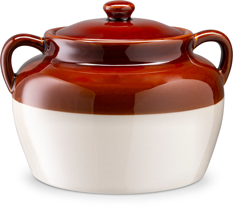Ceramic Bean Pot, 5 Qt