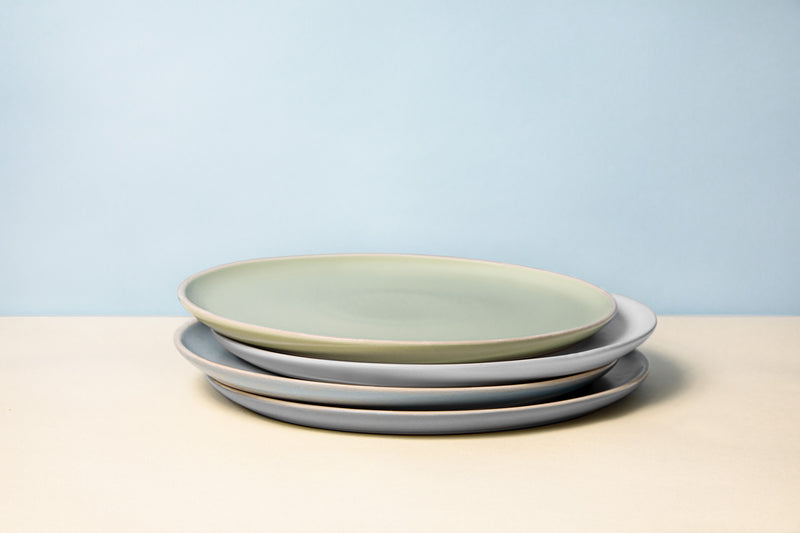 Dinner Plates, 10 inch, Set of 6, The Hamptons Collection