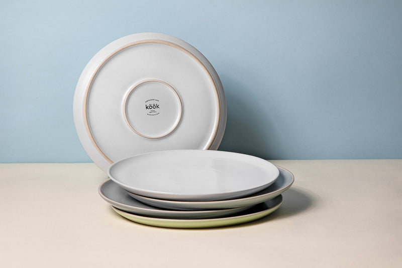 Salad Plates, 8 inch, Set of 6, The Hamptons Collection