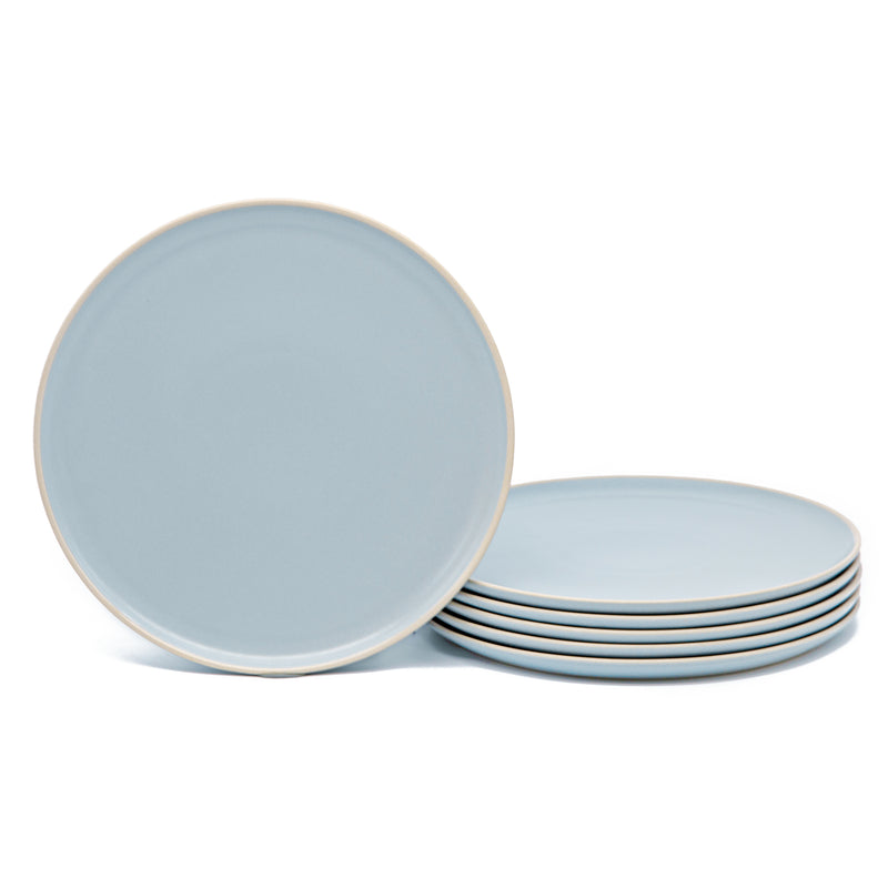 Dinner Plates, 10 inch, Set of 6, The Hamptons Collection-Dine-Kook-Blue-kook