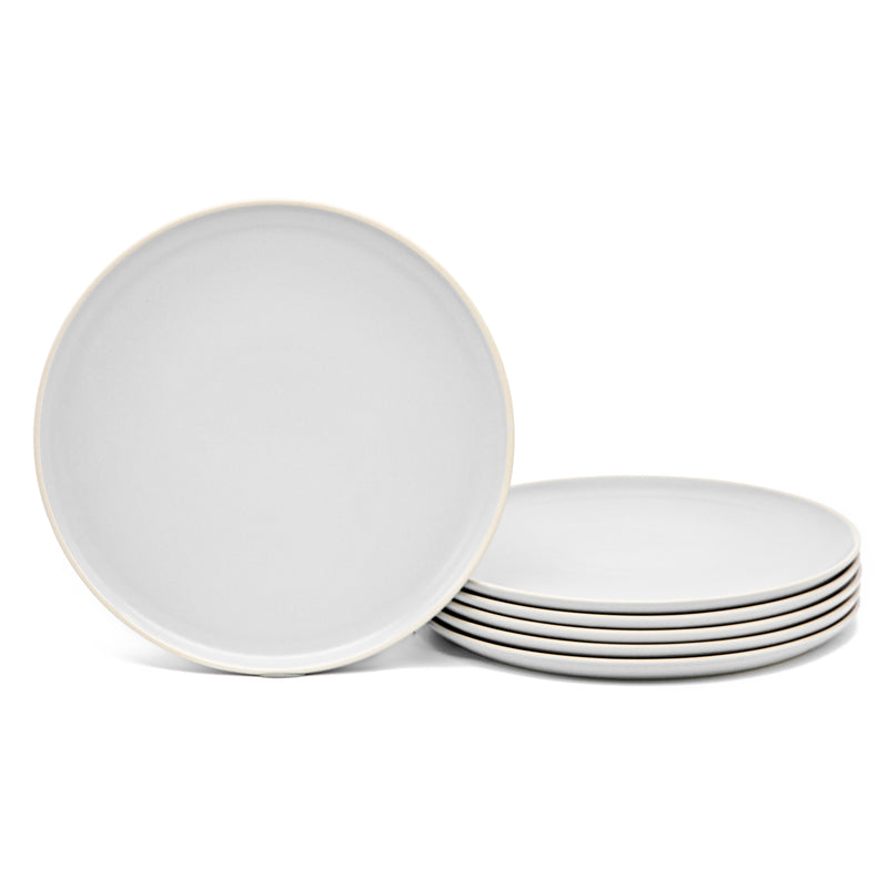 Dinner Plates, 10 inch, Set of 6, The Hamptons Collection-Dine-Kook-White-kook