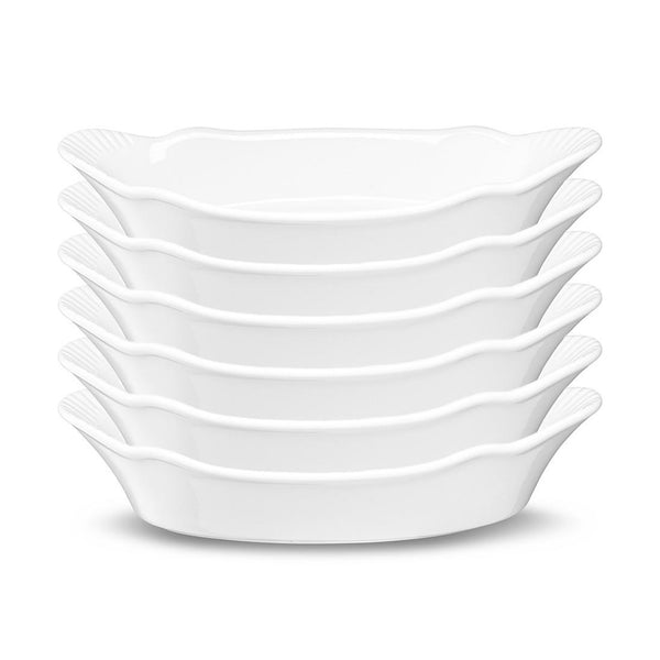 Au Gratin Dish, Set of 6-Serve-Kook-kook