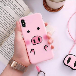 "Necklace Case ""Pig"""