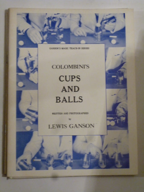 Columbini's Cups and Balls - Lewis Ganson