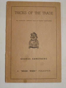 Armstrong, George - Tricks of the Trade