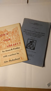 Findlay - How's your Library plus Sotheby's Findlay sales catalogue from Southeby's
