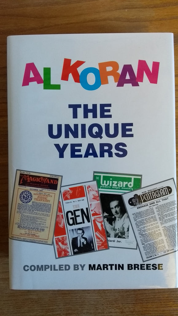Al Koran's Unique years - Orders in USA