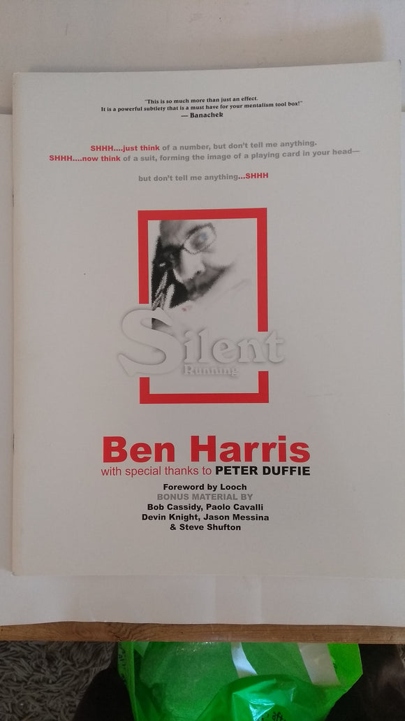 Ben Harris - Silent Running - Limited Edition