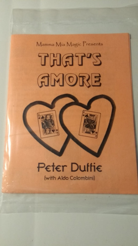 Peter Duffie - That's Amore