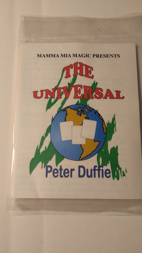Peter Duffie - The Universal