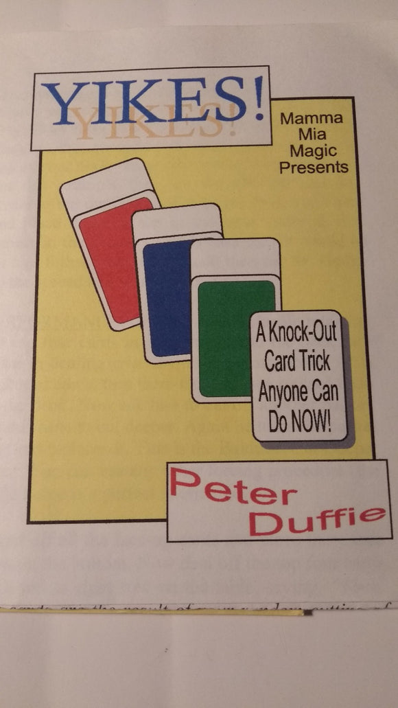 Peter Duffie - Yikes