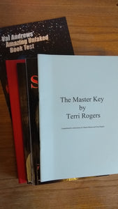 Master Key book test by Terri Rogers plus free extra