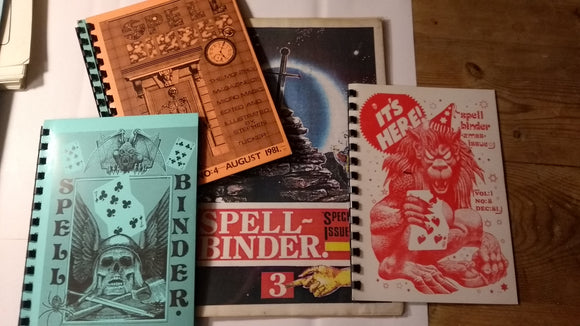 Spellbinder Magazine - original issues