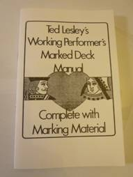 Ted Lesley's Working Deck Performer's Manual