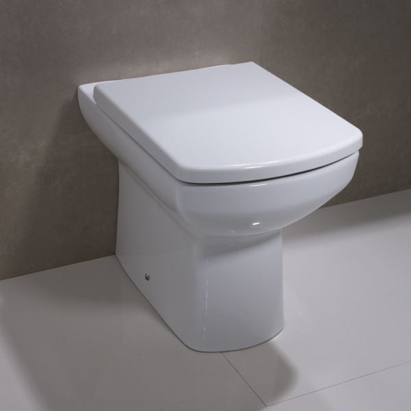 Sicily Back to Wall WC Pan and Soft Close Seat