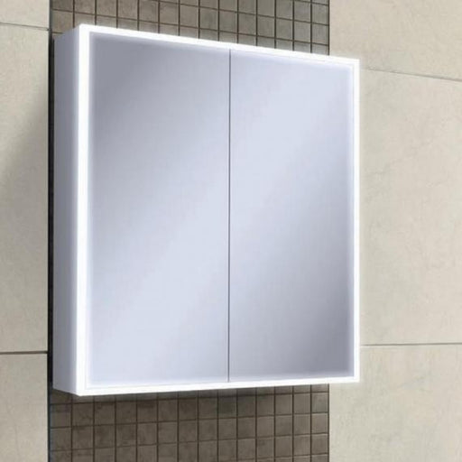 Mia LED Cabinet with Demister & Shaver Socket