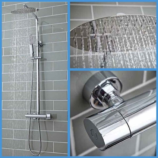 Oval Rigid Riser Shower